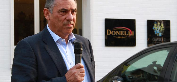 Enrico Freddi, presidente Giacobazzi Modena Rugby