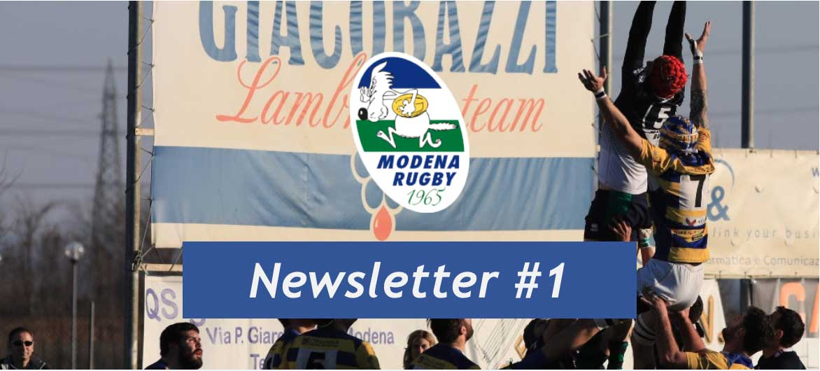 La newsletter del Modena Rugby