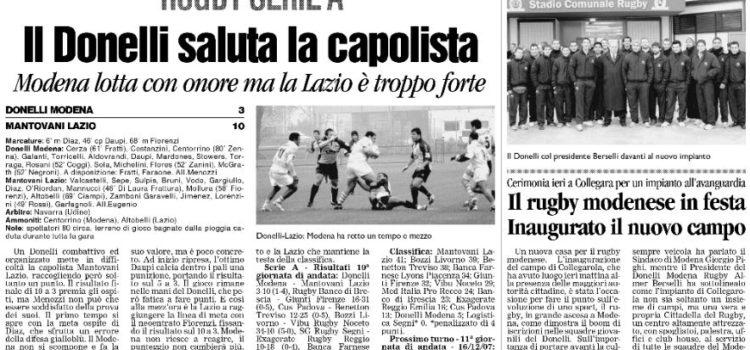Modena Rugby Ricordi Ovali #1