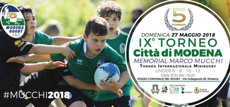 9° TORNEO MUCCHI - Modena Rugby 1965